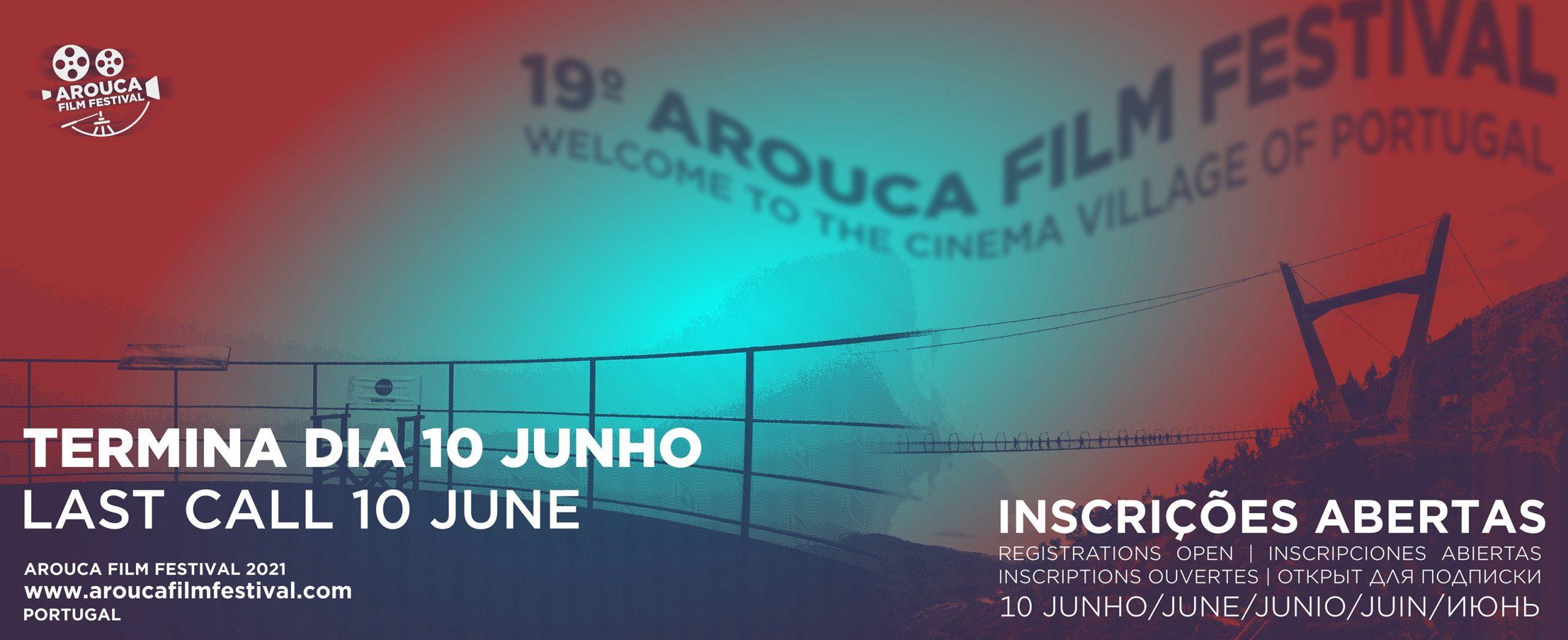 Last Call for Entries: Arouca Film Festival