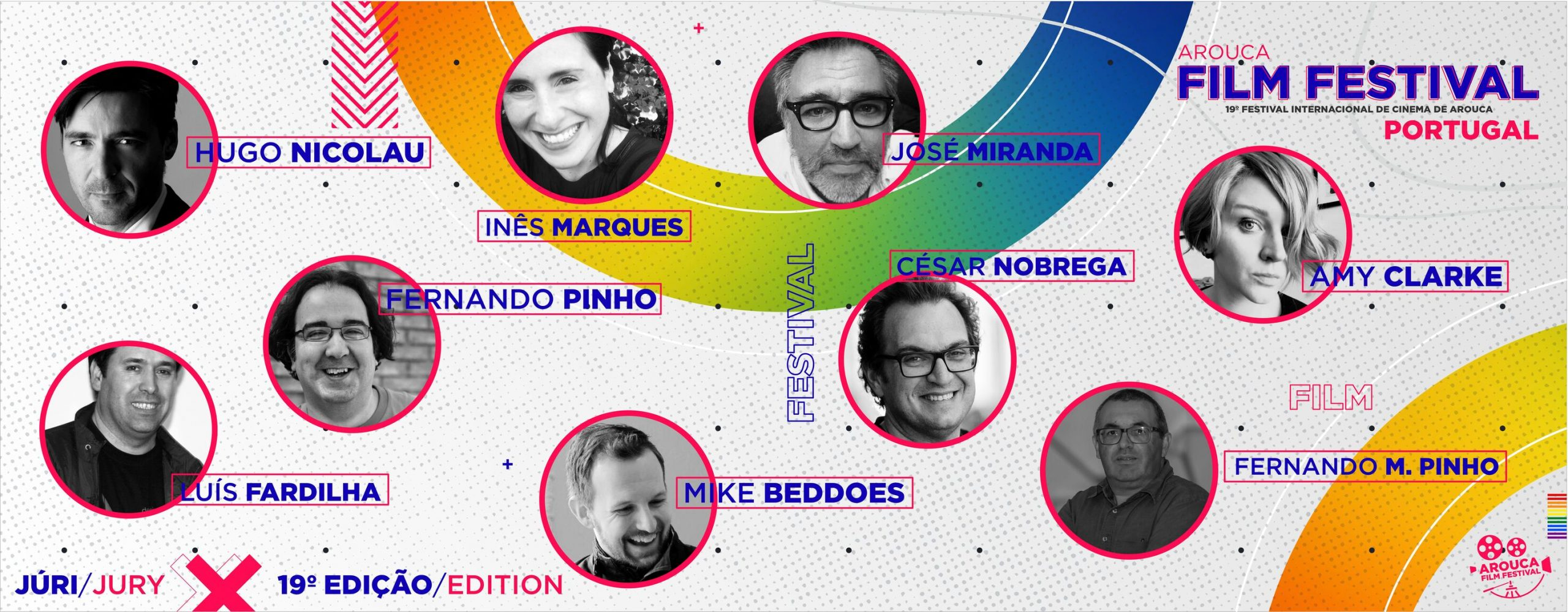 Jury of the 2021 edition of the Arouca Film Festival / Portugal